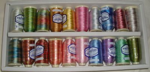 Marathon Embroidery Thread Rayon Kaleidoscope Box Set